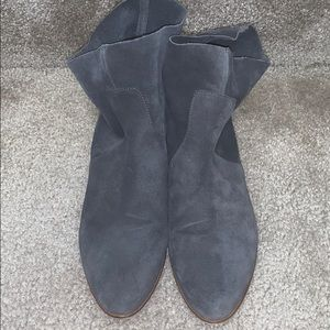 Dr SCHOLL'S SHOES SUEDE BOOTS